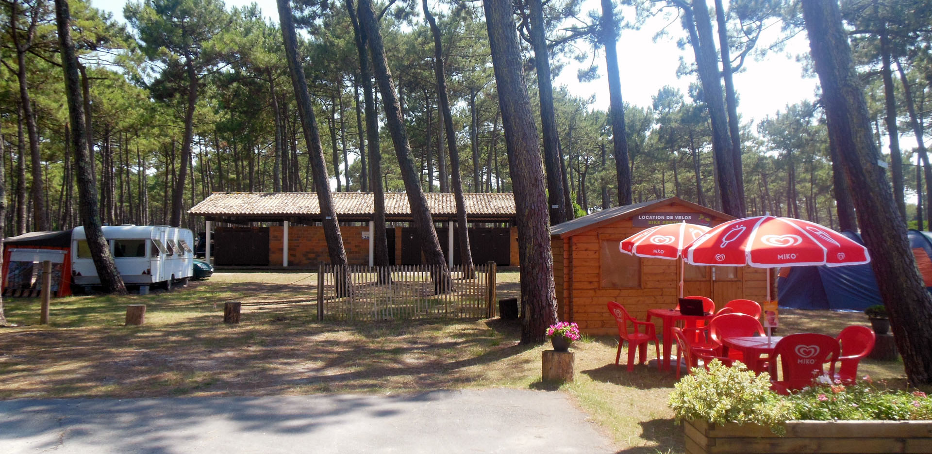 Camping traditionnel et familial